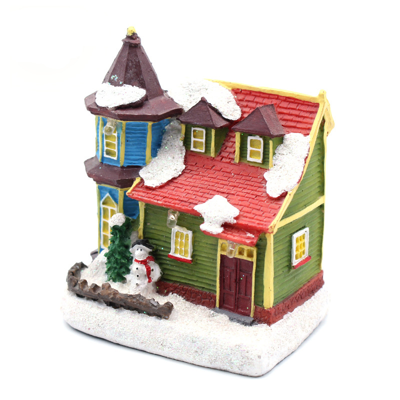 custom made personalized design home art deco miniature house figurines