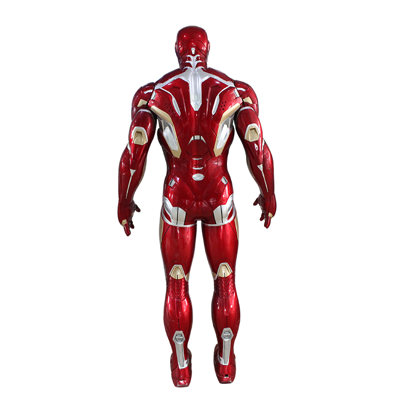 Custom Life Size sculpture Iron Man statues figurines Superman action figure