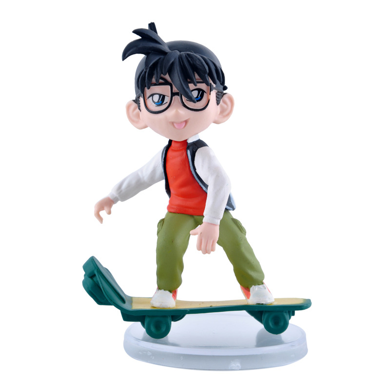 custom set hot character model toys japanese anime detective conan action figure