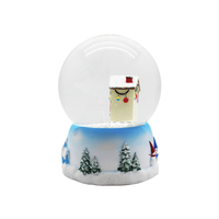 Christmas snow globes promotional items gifts for kid