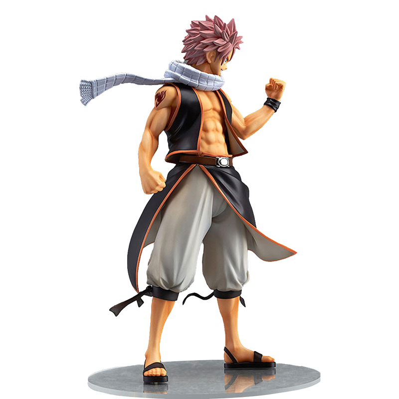 9inch collectible toys natsu japanese anime fairy tail action figure with box