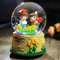 Dia100cm custom made lantern water ball sunflower snow globe with music