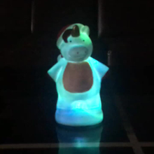 cute snowman night light kids sensor lamp for Christmas toy