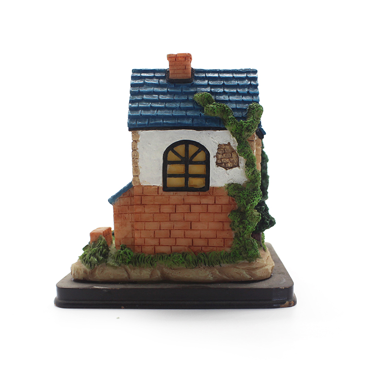 manufacturer resin model miniature house for kids