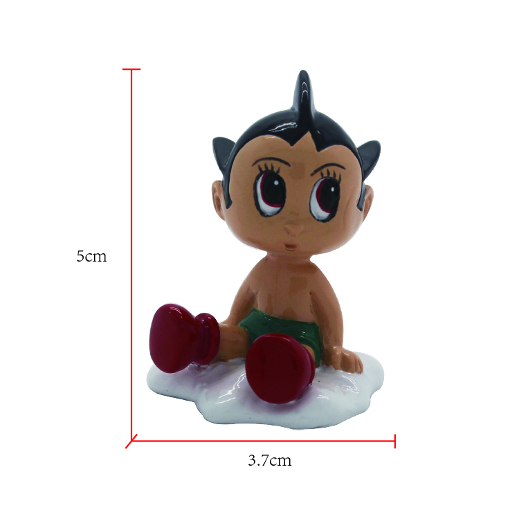 Factory OEM high quality souvenir Japan anime figurines Astro boy bobble head action figures