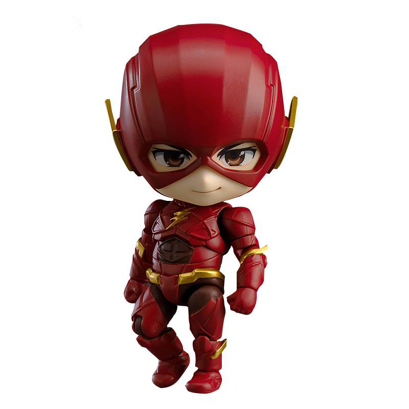 PVC mini hot anime man toys flexible movable the flash action figure