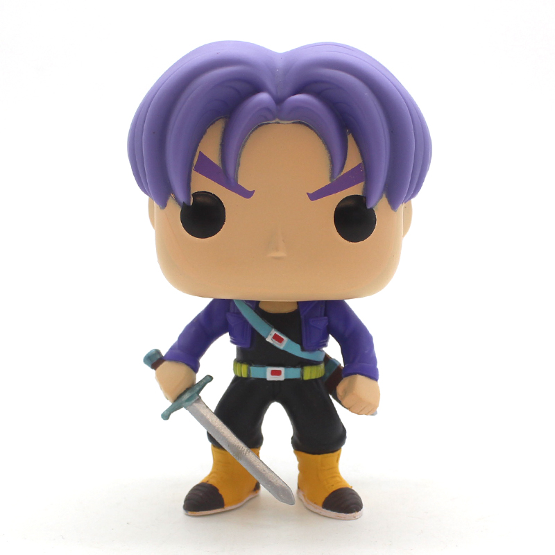 Factory Direct anime cartoon toy action PVC Figure Dragon ball Trunks funko pop