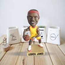 los angeles lakers players bobblehead lebron Anthony davis