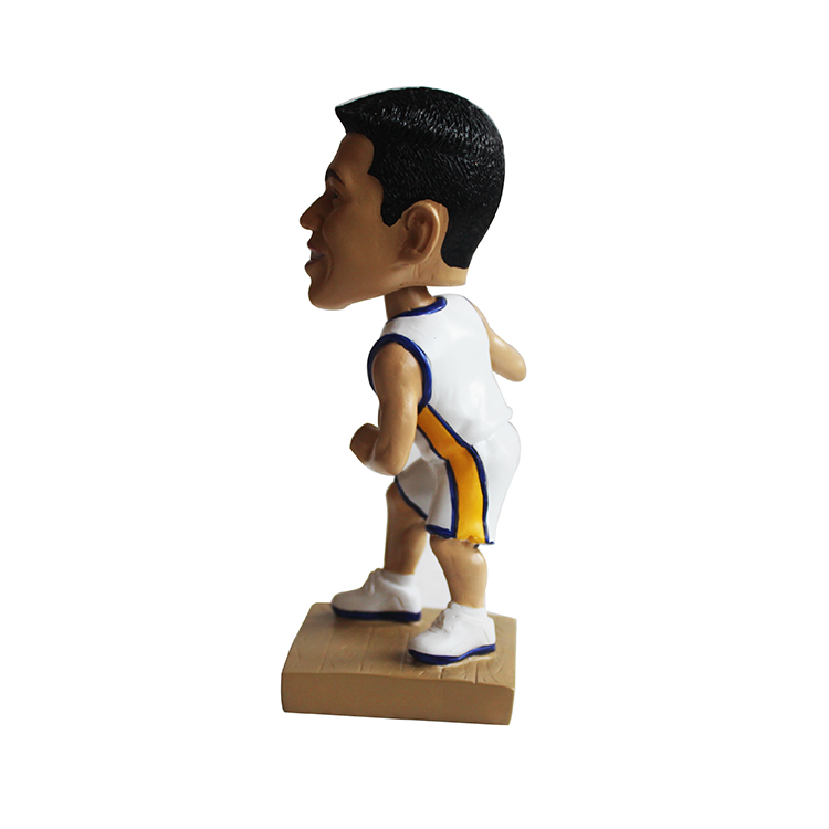 Resin Home Decor Souvenir NBA Basketball Players Jeremy Lin Bobble Heads for gifts