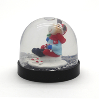 plastic base snow globes custom promotional gifts