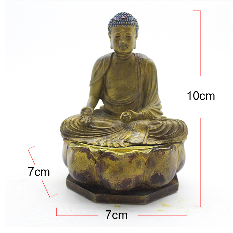 Resin handmade table decoration pray religion sculpture japanese buddha figurines